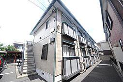 埼玉県越谷市北越谷2の賃貸アパートの外観