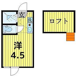 Casa Comodo[108号室]の間取り
