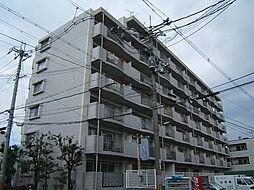 京都府城陽市富野西垣内の賃貸マンションの外観