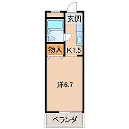 丸八ビル[3階]の間取り