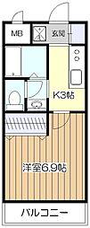 ファーストプレイス[2階]の間取り