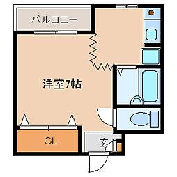 ハイクオリティー神田[5階]の間取り