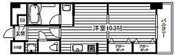KDX堺筋本町レジデンス[8階]の間取り