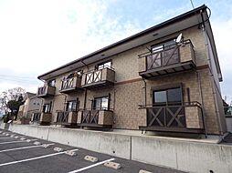 長野県東御市海善寺の賃貸アパートの外観