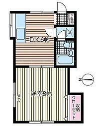 ラカサデ六浦[2階]の間取り