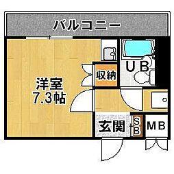 藤和シティコア神戸中道通[5階]の間取り