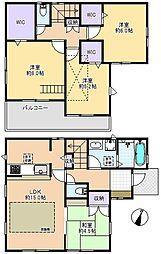 一戸建て(大泉学園駅から徒歩18分、98.54m²、5,390万円)