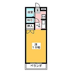 ハイツ アプリコット[3階]の間取り