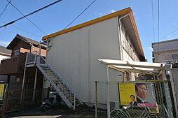 兵庫県宝塚市旭町1丁目の賃貸アパートの外観