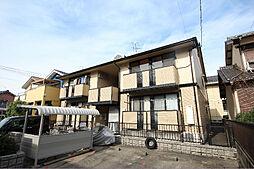 愛知県名古屋市中川区かの里3丁目の賃貸アパートの外観