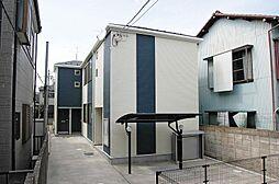 神奈川県横浜市港北区綱島西2の賃貸アパートの外観