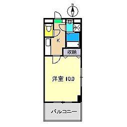 シャルメゾン木香[3階]の間取り