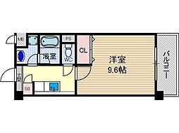 エトワール[4階]の間取り