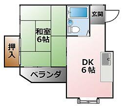 スプリングハイツ[2階]の間取り
