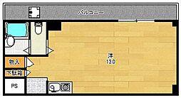 光栄ハイツ芥川[310号室]の間取り