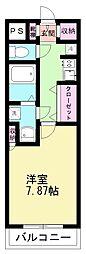 ニューライフ津田沼[2階]の間取り