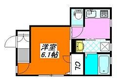 仮) 長栄寺PJ 101号室[1階]の間取り