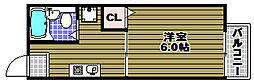 ASハイツ[2階]の間取り