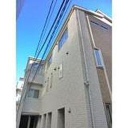 東京都豊島区西池袋4丁目の賃貸アパートの外観