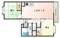 紅陽館I[2階]の間取り