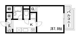 CLプレース[305号室]の間取り