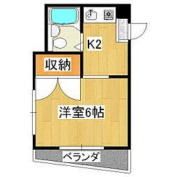 ブランドールハウス[3階]の間取り