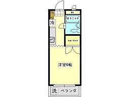 リバーサイド三田2[1階]の間取り