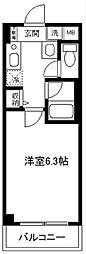 シリウス横濱[404号室]の間取り