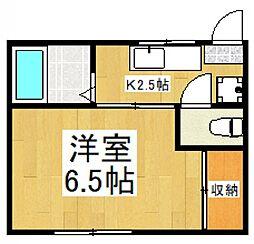 志木ハウス[1階]の間取り
