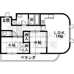 パルフェメゾンOgawa[3階]の間取り