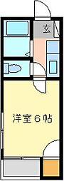 エリートハイム[2F (角部屋)号室]の間取り
