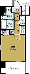 クリスタルグランツ大阪BAY[11階]の間取り