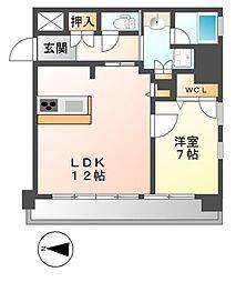 FIRST RESIDENCE SAKAE(ファースト)[12階]の間取り