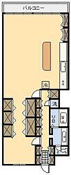 チサンマンション宮崎[66号室]の間取り