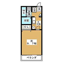マンションTENYU[3階]の間取り