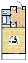 フィレンツェ22[4階]の間取り
