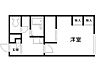 間取り,1K,面積23.18m2,賃料3.4万円,バス くしろバス鳥取南4丁目下車 徒歩8分,,北海道釧路市鳥取南6丁目1-10