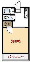 ペスカマーレ[303号室]の間取り