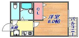 ウエストポーチ[2階]の間取り