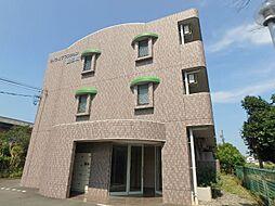 静岡県磐田市加茂の賃貸マンションの外観