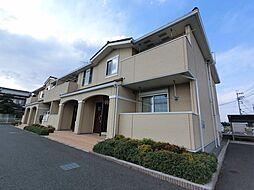 千葉県成田市川栗の賃貸アパートの外観
