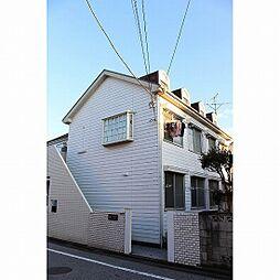 東京都足立区中川3の賃貸アパートの外観