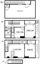 ガイアマンション[3階]の間取り