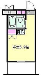 仲町台フェニックスコート[5階]の間取り