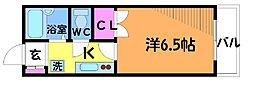東京都調布市小島町2丁目の賃貸マンションの間取り