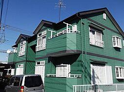 埼玉県春日部市武里中野の賃貸アパートの外観