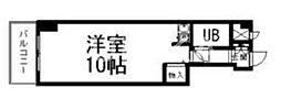 ライオンズマンション中山下[6階]の間取り