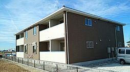千葉県袖ケ浦市坂戸市場の賃貸アパートの外観