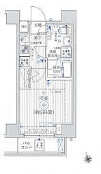 リライア東京イーストレジテンス[2階]の間取り