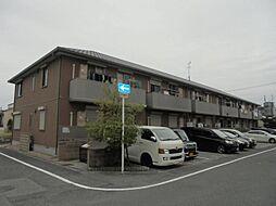 大阪府大阪市東住吉区住道矢田7丁目の賃貸アパートの外観